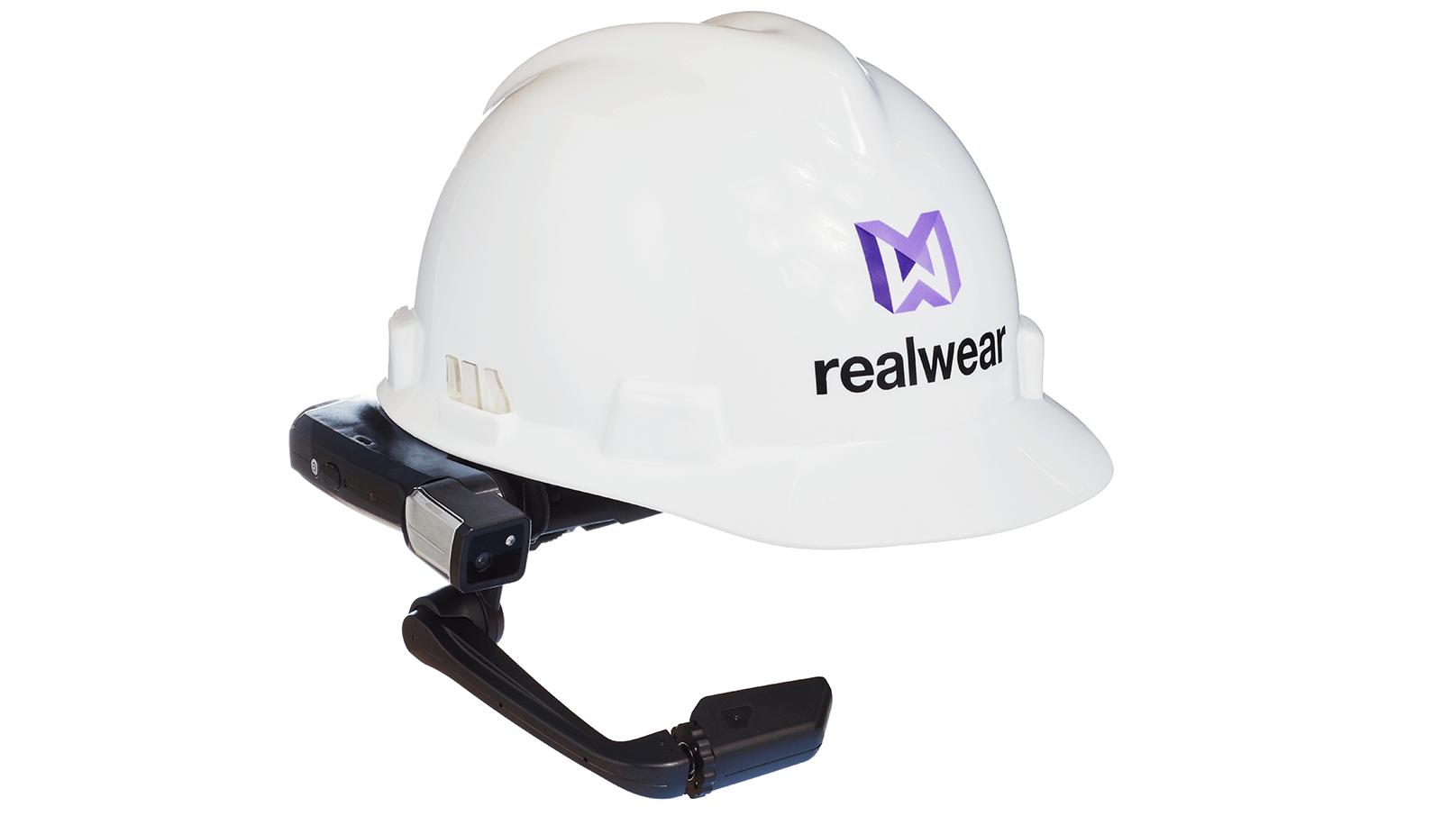 Imagen de un casco RealWear.